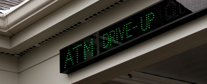 ATM LED Signs | Directional Systems