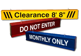 Clearance Signs Aluminum Hanging Clearance Signs