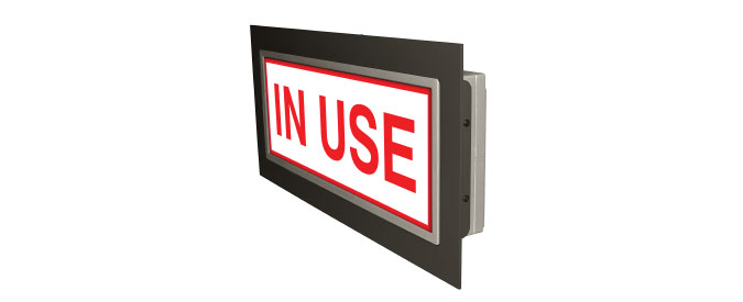 Recessed Frame LED Signs | Directional Systems