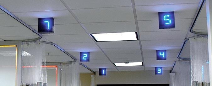 Interior Hospital Wayfinding Signs Indoor Illuminated