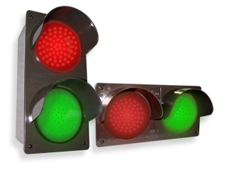 LED Traffic Control Signal Lights