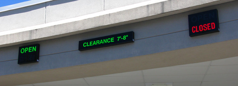 Open Closed LED Signs | Directional Systems