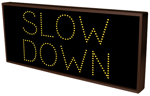 Directional Systems Product #13050 - SLOW DOWN