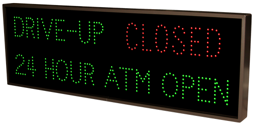 Drive Up 24 Hour Atm Open Open Closed 13239