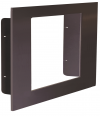 "Recessed Frame Mount for use on 10"" x 10"" LED signs"