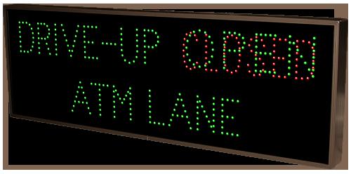 Drive Up Atm Lane Open Closed 15535 Drive Thru