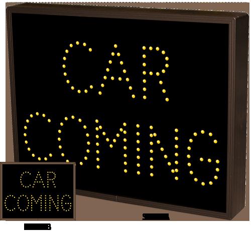 Car Coming Car Coming 18317 Warning Parking Signs