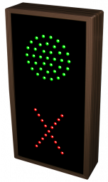 Directional Systems 19824 TCL147GR-E033 3.5 in dia, Green Indicator Dot | X Image