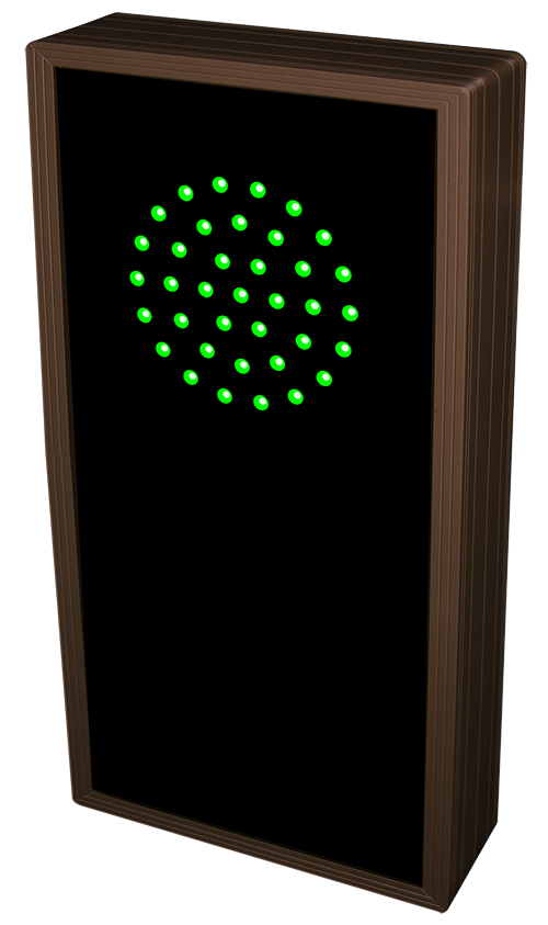 Directional Systems 19824 TCL147GR-E033 3.5 in dia, Green Indicator Dot | X Message 1 Image