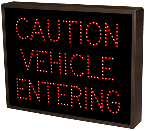 Directional Systems Product #20869 - CAUTION VEHICLE ENTERING