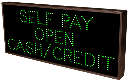 Directional Systems Product #21503 - SELF PAY OPEN CASH/CREDIT