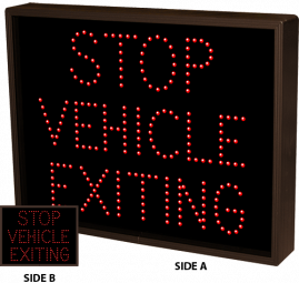 Directional Systems 24490 TCL1418DRR-B133 STOP VEHICLE EXITING | STOP VEHICLE EXITING Image