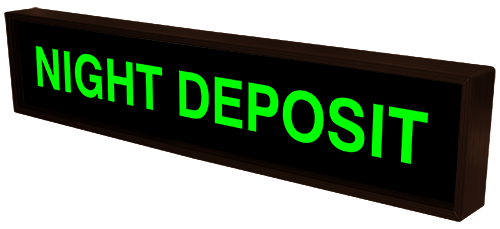 Directional Systems Product #28141 - NIGHT DEPOSIT