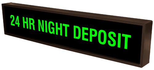 Directional Systems Product #29874 - 24 HR NIGHT DEPOSIT