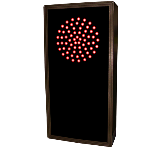 Directional Systems 30126 TCL147RG-225/12-24VDC Indicator Dots, Double, Vertical, 4 in dia, Red - Green (12-24VDC) Message 1 Image