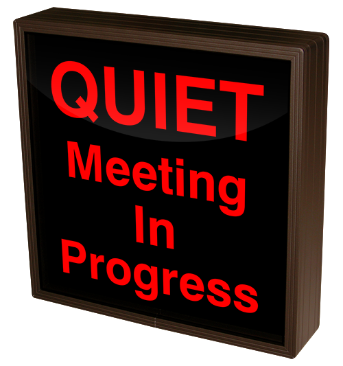Directional Systems Product #38659 - QUIET Meeting In Progress