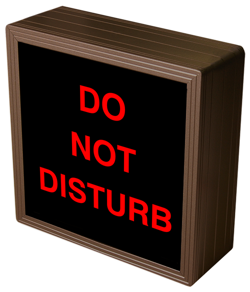 Directional Systems Product #38689 - DO NOT DISTURB