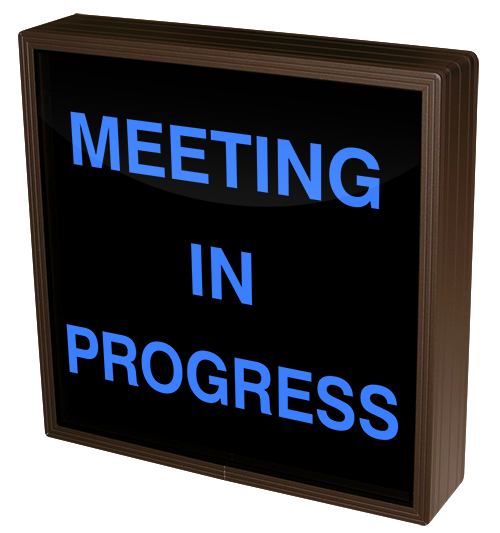 Directional Systems Product #38699 - MEETING IN PROGRESS