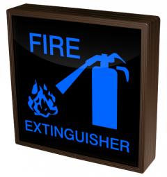 Directional Systems 38759 SBL1212B-C896 FIRE EXTINGUISHER w/FIRE EXTINGUISHER SYMBOL Image