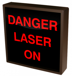 Directional Systems 38771 SBL1212R-E946/120-277VAC DANGER LASER ON (120-277 VAC) Image