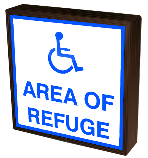 Directional Systems Product #38830 - Area of Refuge w/Handicap Symbol