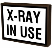 X-RAY IN USE