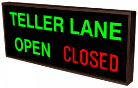 TELLER LANE | OPEN | CLOSED