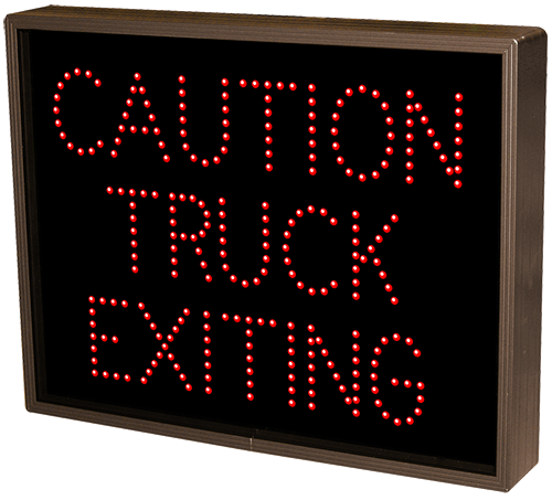 Directional Systems Product #39039 - CAUTION TRUCK EXITING