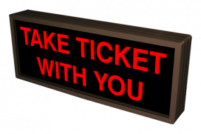 TAKE TICKET WITH YOU