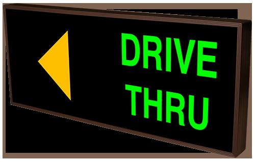 Drive Thru W Left Arrow 39595 Quick Service Restaurant