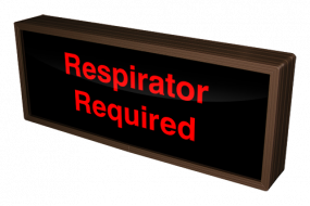 Respirator Required