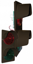 Directional Systems 42242 TCILV-CB-RGH TCILV Vertical Replacement Kit, LED Circuit Board w/ Hood, Red/Green (120-277 VAC) Image