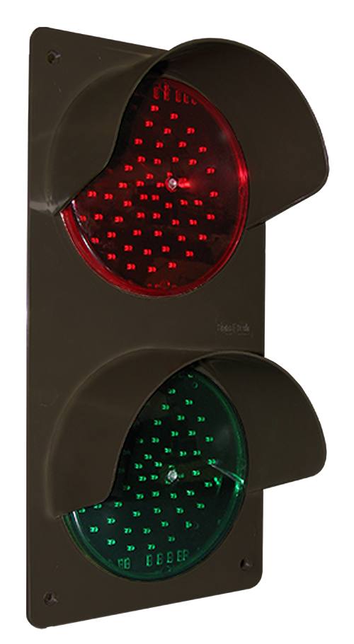Directional Systems 42242 TCILV-CB-RGH TCILV Vertical Replacement Kit, LED Circuit Board w/ Hood, Red/Green (120-277 VAC) Message 1 Image