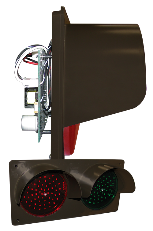 Directional Systems Product #42786 - TCILH Horizontal Replacement Kit, LED Circuit Board w/ Hood, Red/Green (12-24VDC)