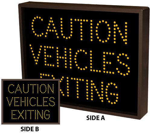 Directional Systems Product #5070 - CAUTION VEHICLES EXITING
