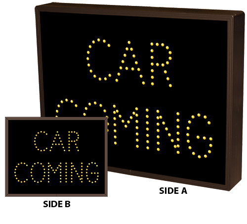 Directional Systems Product #5071 - CAR COMING | CAR COMING