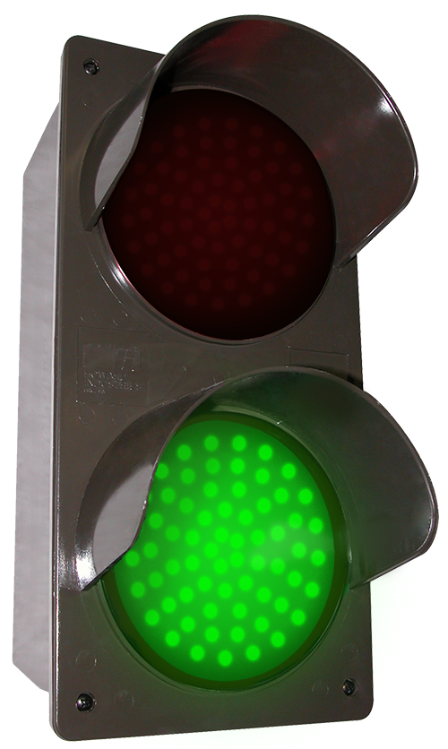 Directional Systems 50937 TCILV-RG/120-277VAC LED Traffic Controller - Vertical, Red-Green (120-277 VAC) Message 2 Image