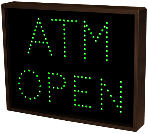 Atm Open Closed 5100 Open Closed Bank Signs