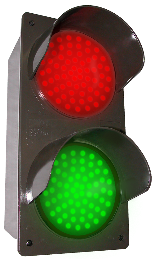Directional Systems Product #51592 - LED Traffic Controller - Vertical, Red-Green