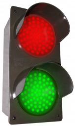 Directional Systems 51592 TCILV-RG/12-24VDC LED Traffic Controller - Vertical, Red-Green (12-24 VDC) Image
