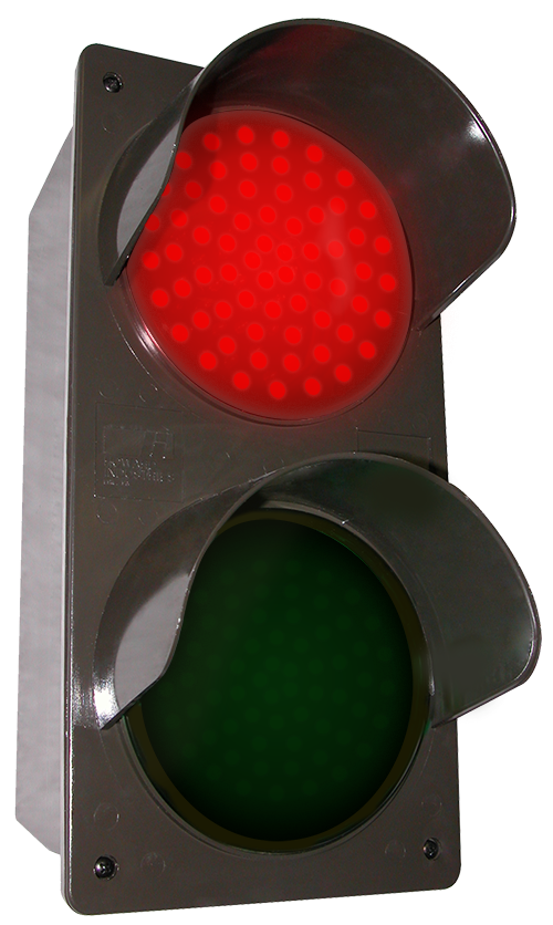 Directional Systems 51592 TCILV-RG/12-24VDC LED Traffic Controller - Vertical, Red-Green (12-24 VDC) Message 1 Image