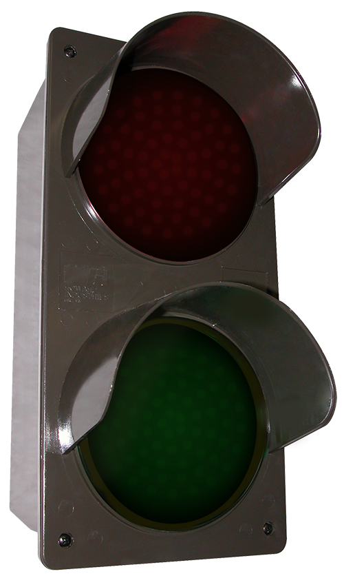 Directional Systems 51592 TCILV-RG/12-24VDC LED Traffic Controller - Vertical, Red-Green (12-24 VDC) Message 3 Image