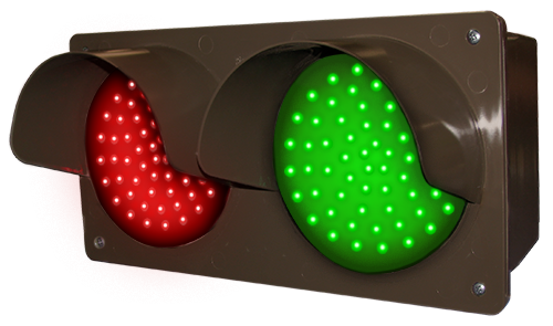 Directional Systems Product #51593 - LED Traffic Controller - Horizontal, Red/Green