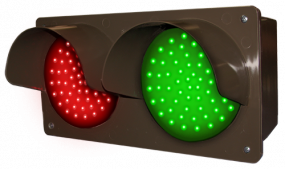 Directional Systems 51593 TCILH-RG/12-24VDC LED Traffic Controller - Horizontal, Red/Green (12-24 VDC) Image