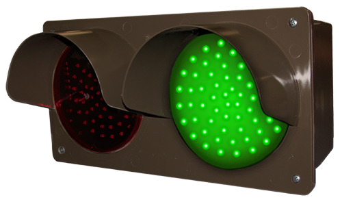 Directional Systems 51593 TCILH-RG/12-24VDC LED Traffic Controller - Horizontal, Red/Green (12-24 VDC) Message 2 Image