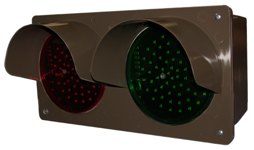 Directional Systems 51593 TCILH-RG/12-24VDC LED Traffic Controller - Horizontal, Red/Green (12-24 VDC) Message 3 Image
