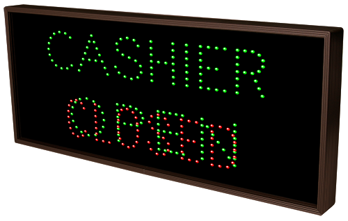 Directional Systems Product #5184 - CASHIER | OPEN | CLOSED