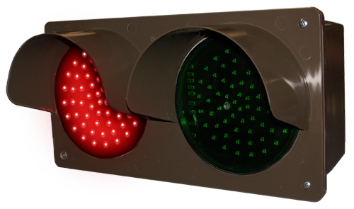 Directional Systems 52170 TCILH-RG/120-277VAC LED Traffic Controller - Horizontal, Red-Green (120-277 VAC) Message 1 Image