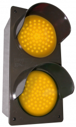 Directional Systems 52172 TCILV-AA/120-277VAC LED Traffic Controller - Vertical, Amber-Amber (120-277 VAC) Image