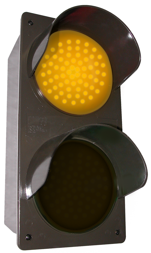 Directional Systems 52172 TCILV-AA/120-277VAC LED Traffic Controller - Vertical, Amber-Amber (120-277 VAC) Message 1 Image